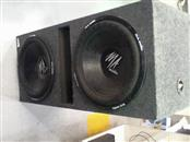MA AUDIO Car Speakers/Speaker System SUBWOOFER